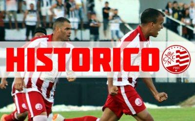 O retrospecto histórico do Náutico com os jogos oficiais de 1909 a 2019