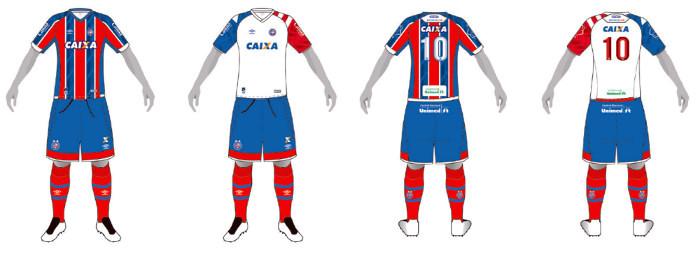 Os uniformes dos principais times do Nordeste cadastrados na CBF em ... 919317ac8e303