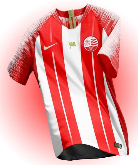 82800f044d Já a camisa do Santa Cruz seguiria a ideia de uma versão alternativa. Ou