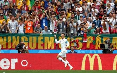 Mesmo jogando mal, Portugal vence o Marrocos. E CR7 quebra outro recorde