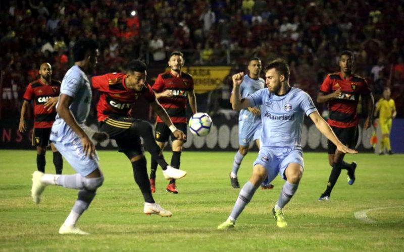 Sport empata com o Grêmio e para no Mundial com 52% de aproveitamento