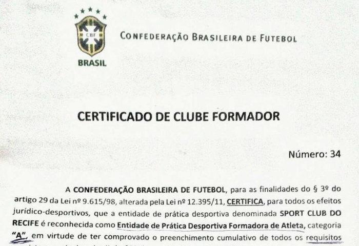 Os 45 clubes formadores certificados pela CBF em 2018 3c90d11b4d35e