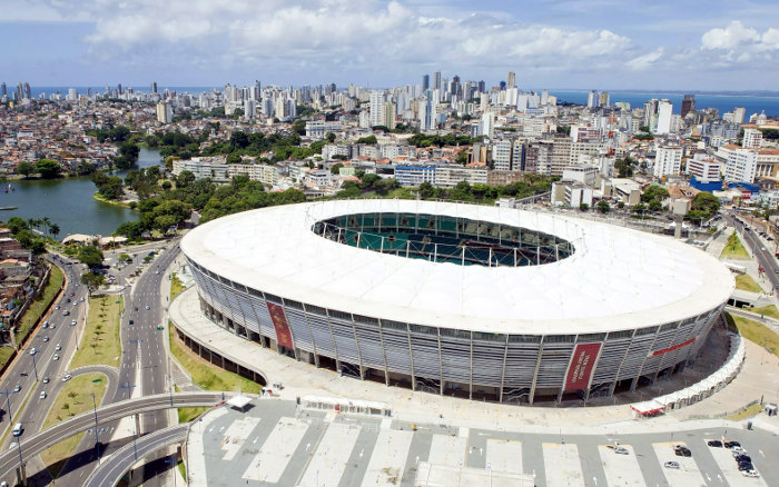 Fonte Nova, a única arena nordestina confirmada na Copa América de 2019