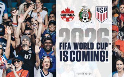 Copa do Mundo de 2026 com 3 sedes e 48 seleções. Gigantismo desenfreado