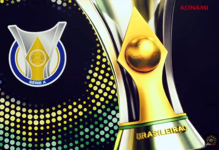 Game – PES 2019 com o Brasileirão licenciado. Logo, 4 clubes do Nordeste