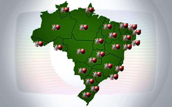 Clássico da TV, Flamengo x Corinthians entra na grade aberta dos 27 estados