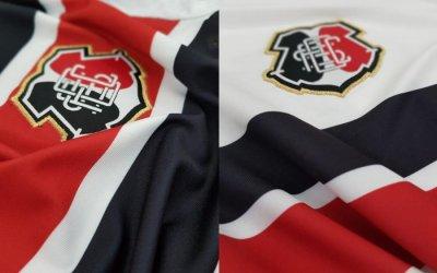 A linha de uniformes do Santa para a temporada 2018/2019, via Cobra Coral