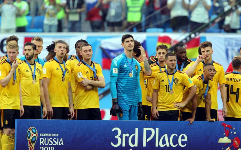 Bélgica vence a Inglaterra e fica em 3º lugar, a sua melhor campanha na Copa