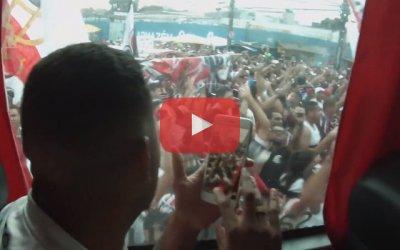 Vídeo – Os bastidores de Santa Cruz 1 x 0 Operário, pelo Brasileiro de 2018