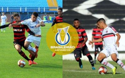Sport e Santa deixam o Brasileiro de Aspirantes na 1ª fase: 1 vitória cada