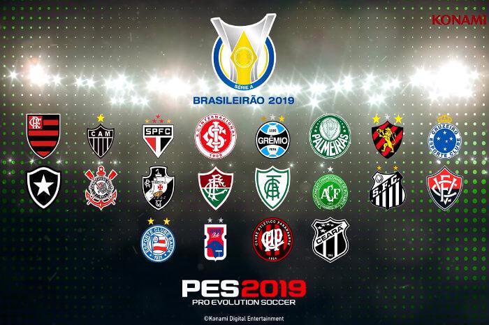 Game – Trailer do Brasileirão no PES 2019, com 4 nordestinos confirmados