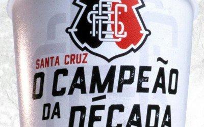 A nova temporada de copos colecionáveis do Santa Cruz