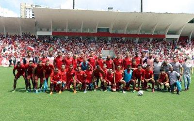 1º treino aberto nos Aflitos reúne 4 mil pessoas, com 4 toneladas em doações