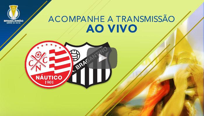 Ao vivo – Transmissão de Náutico x Bragantino via CBF TV