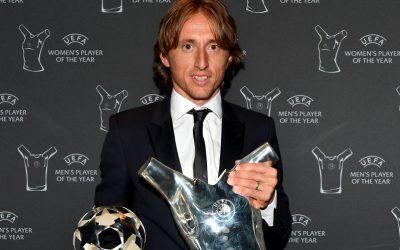 Luka Modric, o melhor jogador da Europa em 2017/2018. Foi mesmo?