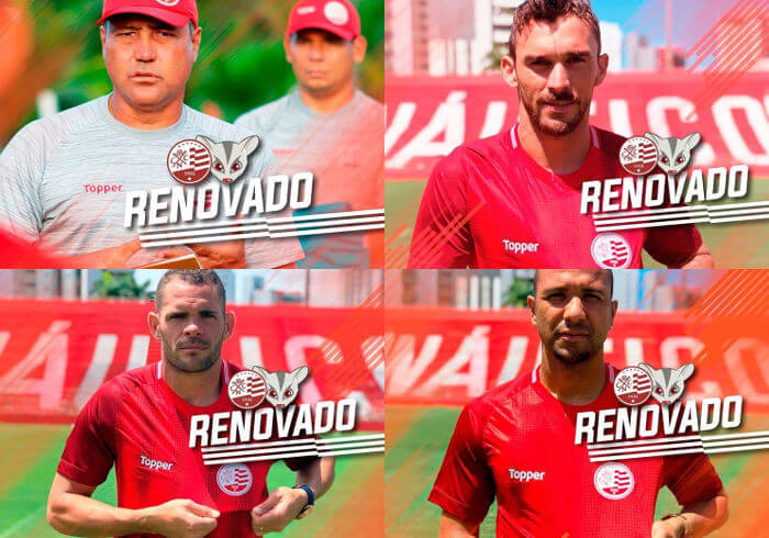 Mesmo sem Ortigoza, Náutico articula permanência do time-base para 2019