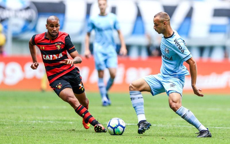 Em jogo de 7 gols, o Sport vence o Grêmio e quebra tabu como visitante