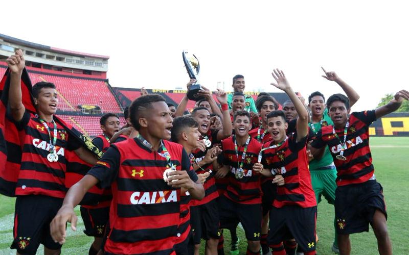 Sport vence o Santa 2x e conquista o pentacampeonato estadual no Sub 15