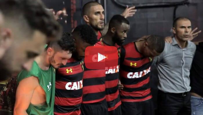 Vídeo   Os bastidores de Sport 2 x 1 Internacional, pelo Brasileirão 2018