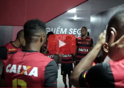 Vídeo | Os bastidores de Sport 1 x 0 Ceará, pelo Brasileirão 2018
