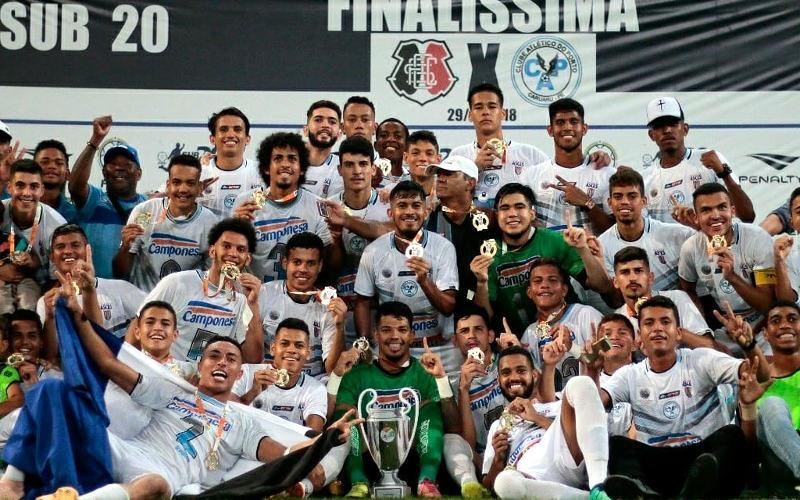 Porto vence o Santa e conquista o 4º título estadual no Sub 20 em 15 anos