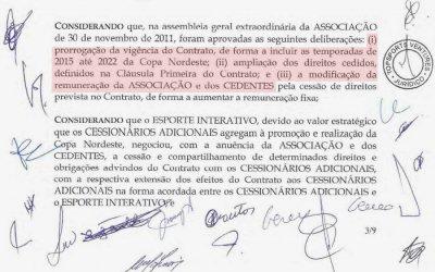 Acordo de rescisão garante R$ 120 milhões à Copa do Nordeste até 2022