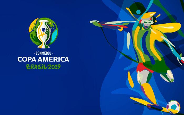 A tabela da Copa América de 2019, com a Seleção Brasileira na Fonte Nova