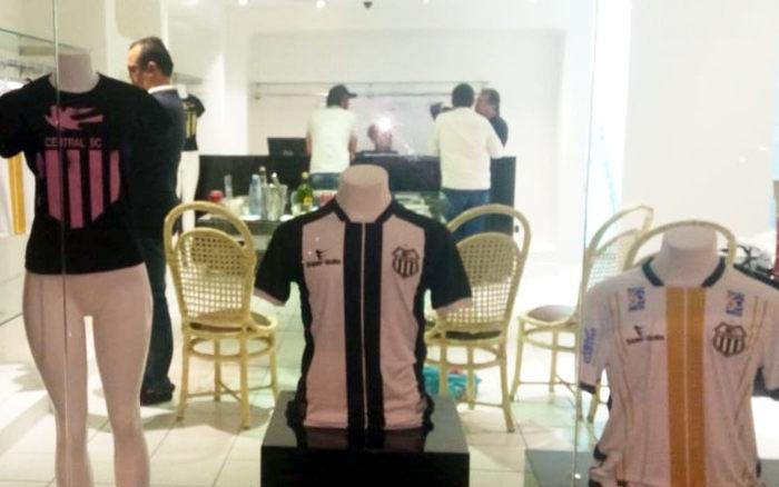 Em ação para o centenário, Central inaugura a sua primeira loja oficial