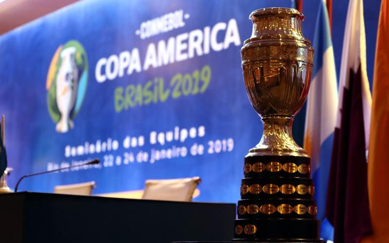 A tabela da Copa América de 2019 e os caminhos do Brasil, o país-sede