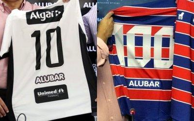 Ceará e Fortaleza firmam patrocínio em conjunto. E no Recife? Faz tempo…