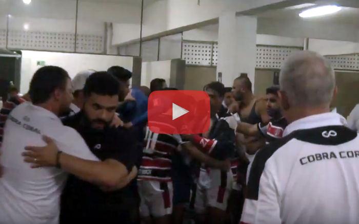 Vídeo |  Os bastidores de Santa Cruz 1 x 0 Sport, pelo Pernambucano de 2019