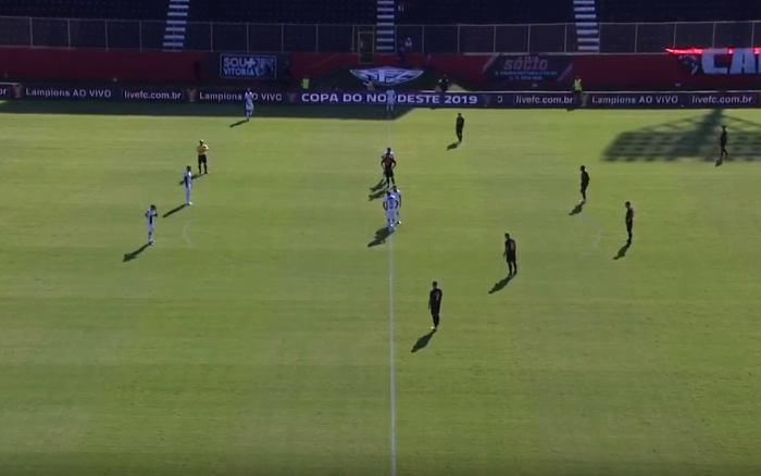Ao vivo | Transmissão de Vitória x Ceará, pelo Nordestão, via Youtube