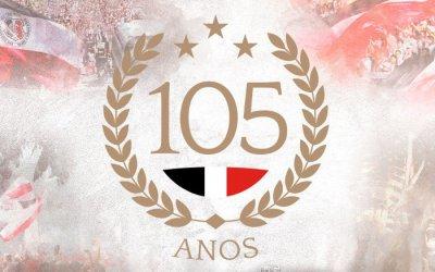 A programação oficial do 105º aniversário do Santa Cruz