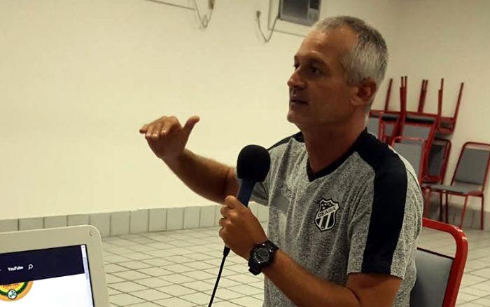 Podcast | Entrevista com o técnico do Ceará, Lisca. Sobre a evolução…