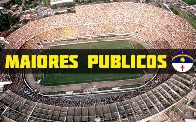 Vídeo   Os 10 maiores públicos da história do futebol pernambucano