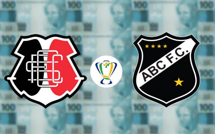 Santa x ABC, o duelo de R$ 1,9 milhão na Copa do Brasil. Mirando a paz no BR