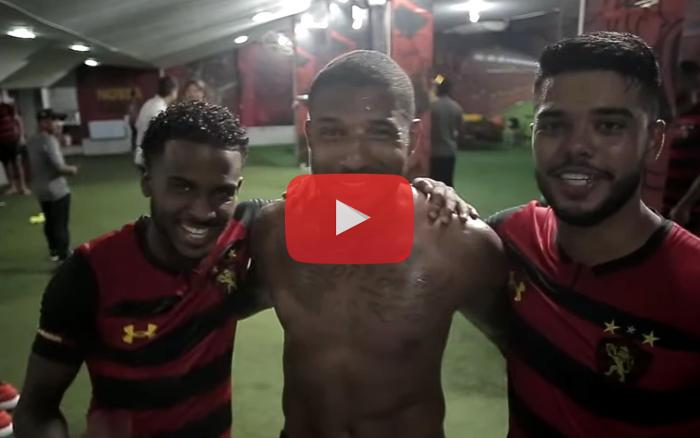Vídeo | Os bastidores da classificação do Sport à semifinal do Pernambucano