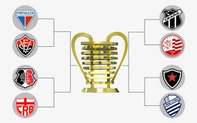 O mata-mata da Copa do Nordeste 2019, com o caminho das quartas à decisão