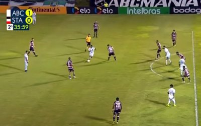 TV | Audiência do futebol na Globo em 03/04, com 1 milhão para ABC x Santa