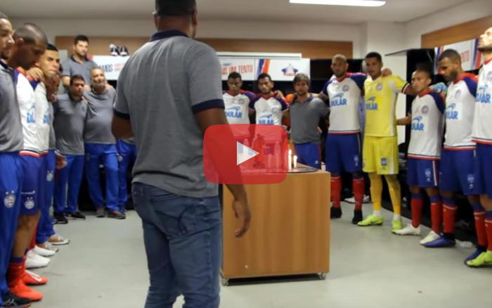 Vídeo   Os bastidores do título estadual do Bahia em 2019