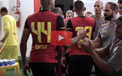 Vídeo | Os bastidores da vitória do Sport na ida da final do Estadual