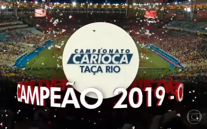 TV   A audiência do futebol na Globo em 31/03, com a Taça Rio em 19 estados. Via Ibope