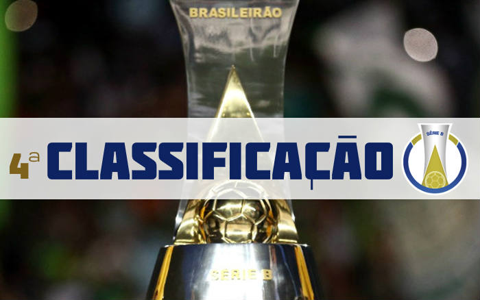 A classificação da Série B de 2019 após a 4ª rodada, com Sport a 1 ponto do G4