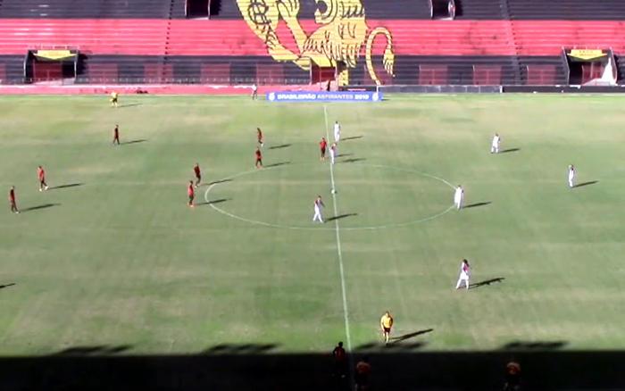 Ao vivo | Transmissão de Sport x Paraná, nos Aspirantes, via FPF TV