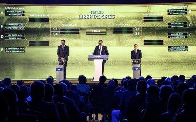 O mata-mata da Taça Libertadores de 2019, com 6 clubes brasileiros