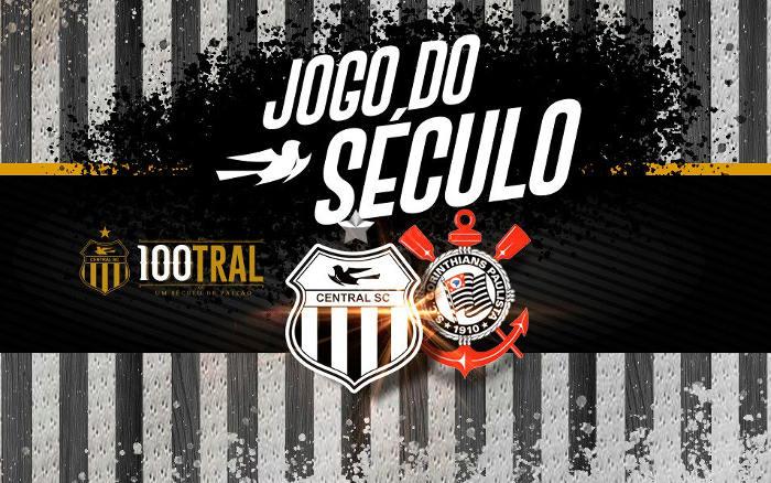Central x Corinthians, o amistoso festivo para os 100 anos da patativa