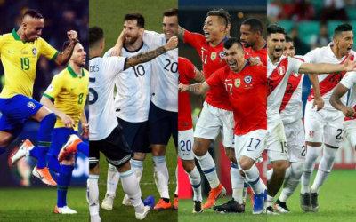 Semifinal da Copa América 2019 com Brasil x Argentina e Chile x Peru