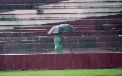 Chuva | Náutico x Botafogo adiado por dois dias seguidos. Decisão prudente