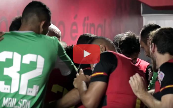 Vídeo | Os bastidores de Sport 1 x 0 CRB, pela Série B de 2019