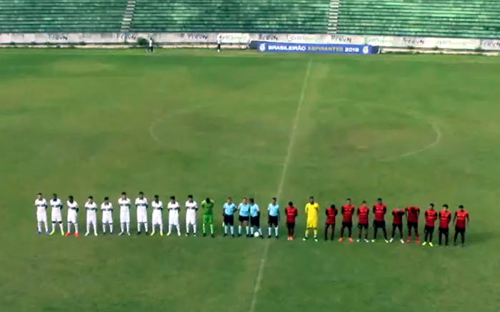 Ao vivo | Transmissão de Sport x Coritiba, nos Aspirantes, via FPF TV